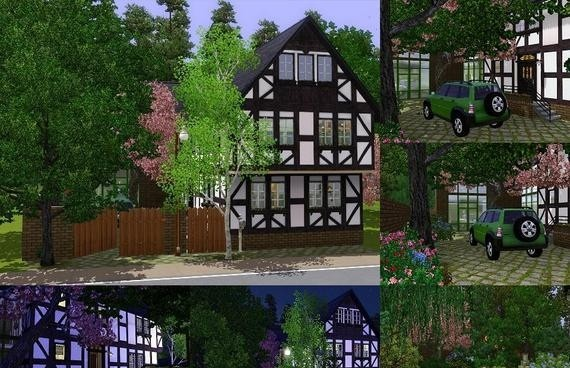 Floor plans free games download for Half timbered house plans