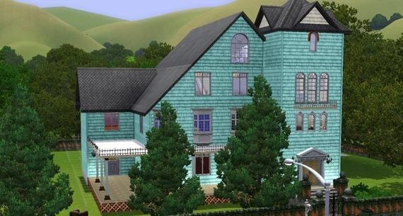 Sims3 - Victorian Townhome