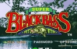 Super Black Bass for SNES