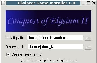 Illwinter Game Installer