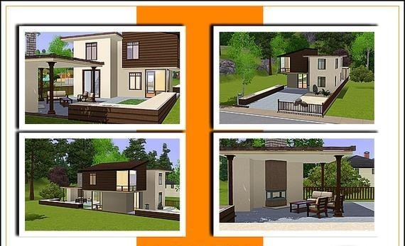 Modern house sims 3 floor plans joy studio design 3 family house plans