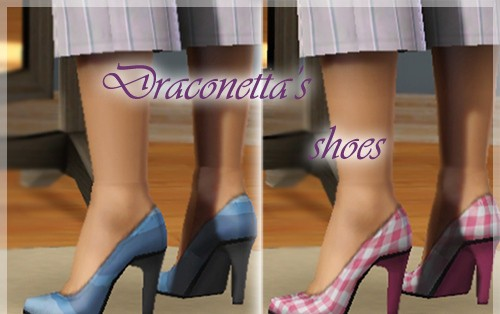 Sims3 - Fashionable Shoes 001