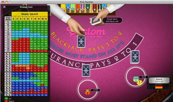 Searches Casino Blackjack for Windows 8