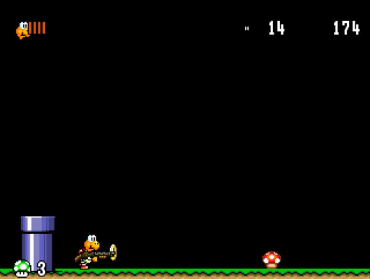 Screenshots for mario game koopa s revenge