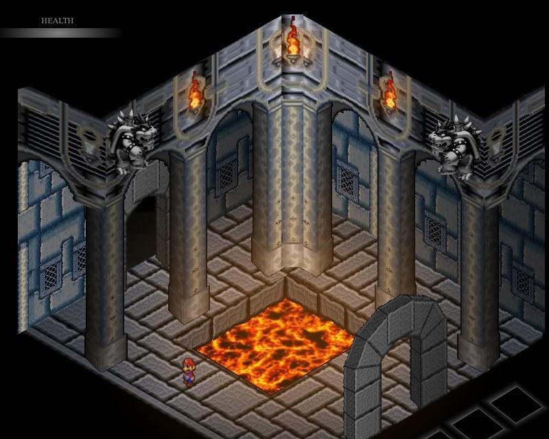 Mario Game: Bowser's Castle