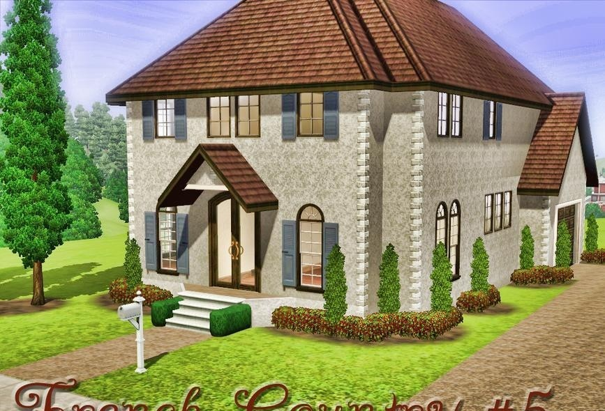 sims3 - French Country Home #5