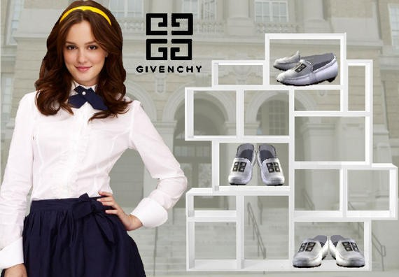 sims3 -Givenchy white flats