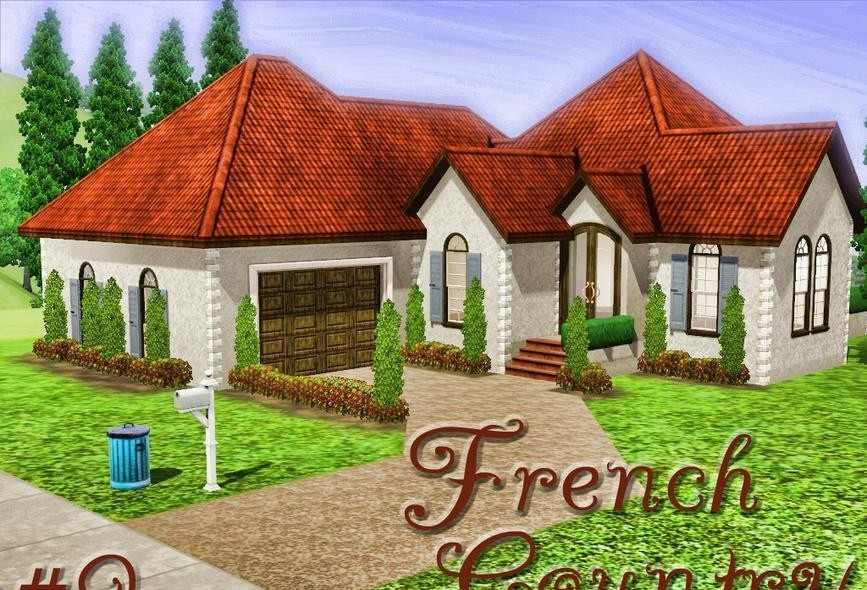 sims3 - French Country Home #9