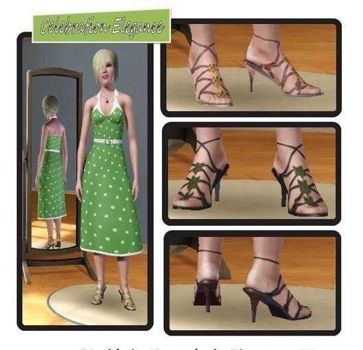 Sims3 - Stylish Sandal Shoes