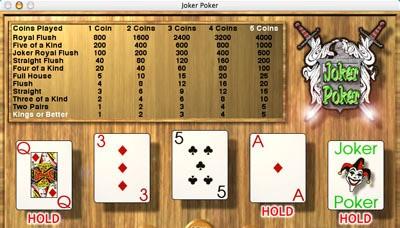 Mac Video Poker for Mac OSX