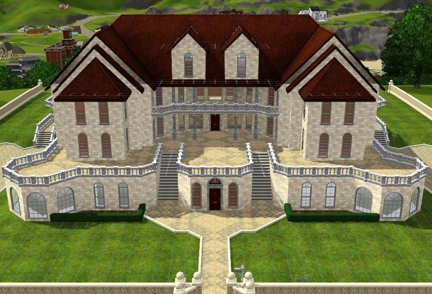 Herregard Sims 3 House Plans