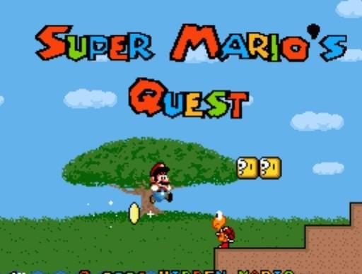 Super Mario Quest for SNES