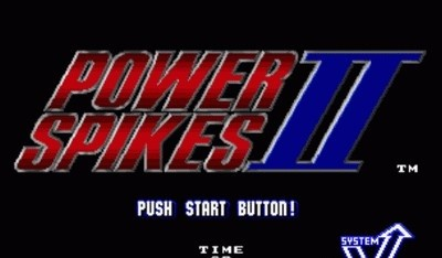 Screenshots - for Power Spikes II for Neo Geo
