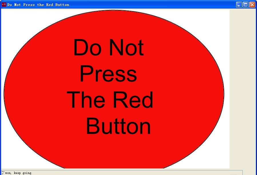red button game