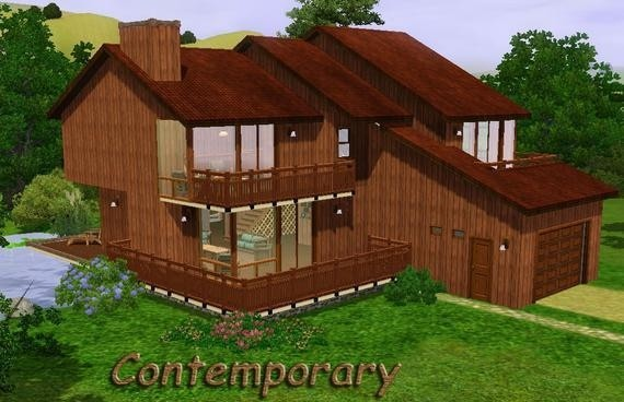 Sims3 - Contemporary Cottage