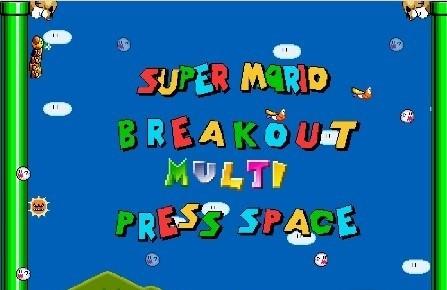 Super Mario Breakout MULTI
