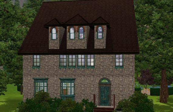 Sims3 - Old Italian Farmhouse italian fem joy