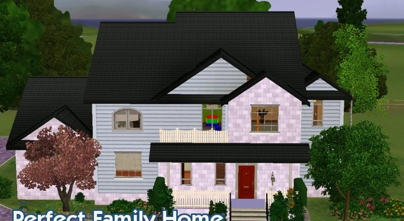 Sims3 - Beautiful Family Home