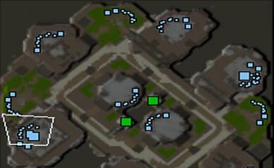 Starcraft 2 Map - Metalopolis