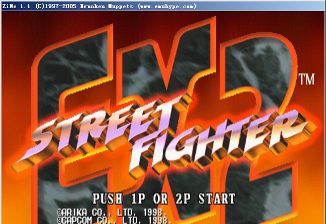 Street Fighter EX 2 for Zinc