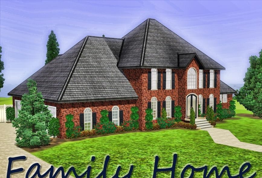 sims3 - Wonderful Family Home