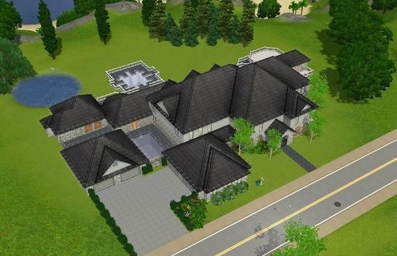 Sims3 - French Country Estate