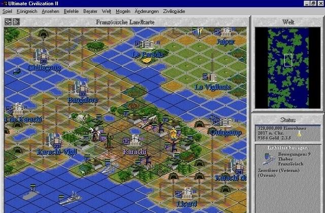 LTF Abandonware France - Civilization II