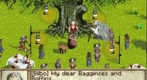 The Lord of the Rings for GBA vice lord lit