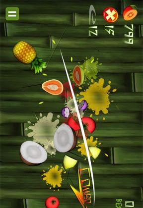 Fruit Ninja KaKa for Android Free Game version 1.6.6
