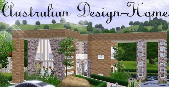 Sims3 - Australian Design-Home