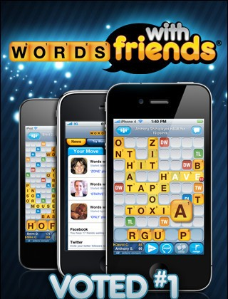 Words With Friend for iPhone
