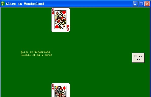 alice in wonderland card game online