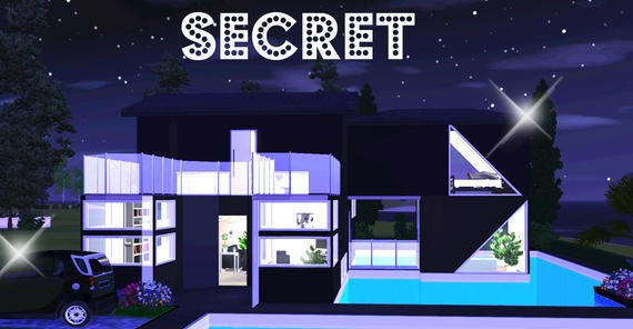 Sims3 - Secret *Fully Furnished*