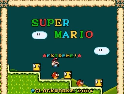 Super Mario Extreme for SNES