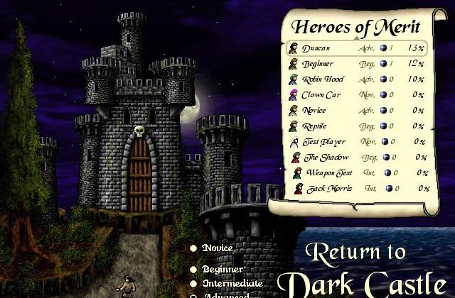 Dark Castle Mac Game