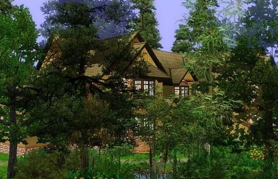 Sims3 - Winnipeg Canadian Lodge