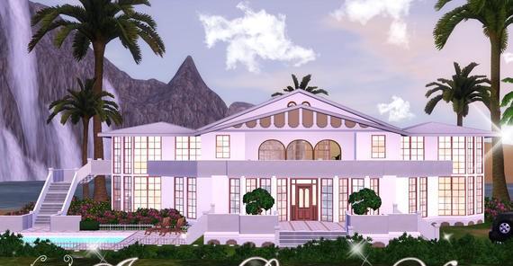 Sims3 - Italian Luxury Villa *FF* italian fem joy