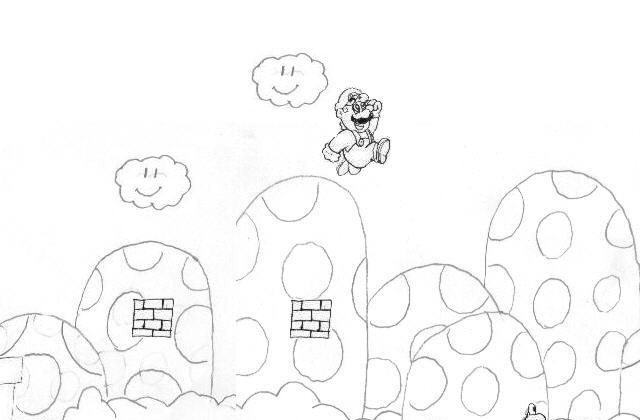 mario question block coloring pages - photo#19