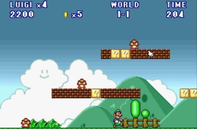 super mario and luigi games 2 player