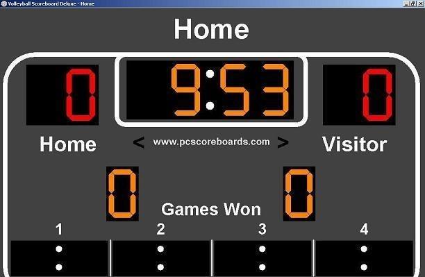 Volleyball Scoreboard Deluxe 1.0.0