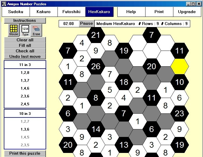 Screenshots for amigos number puzzles for mac 1 2