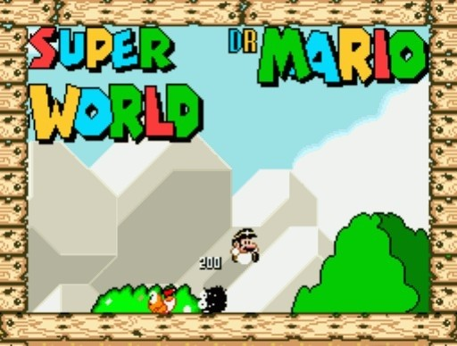 Super Dr. Mario World for SNES