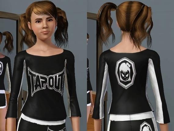 Sims3 - Tapout Fightergirls Top