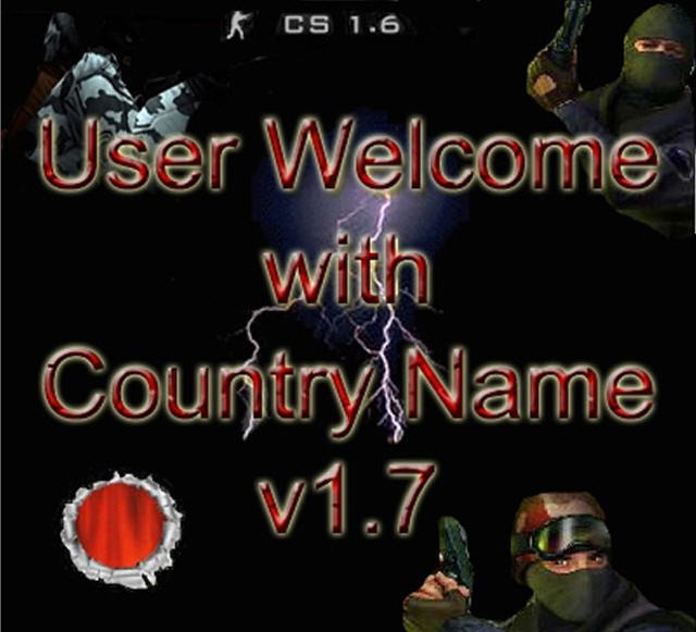 CS Tools: UserWelcome with CountryName
