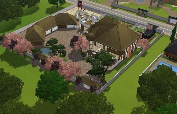 sims3 the haven plus a basement lisisoft