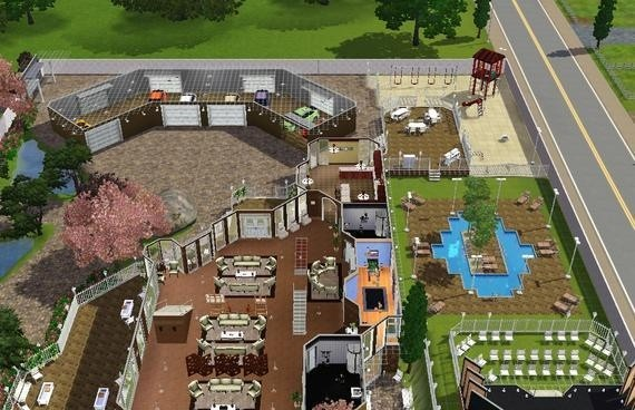 also see like sims3 the haven plus a basement