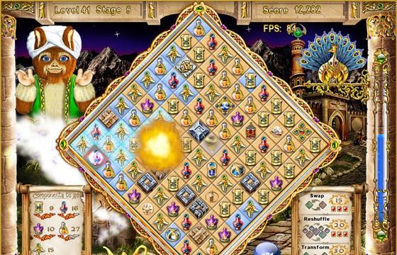 Magic Match:The Genie's Journey