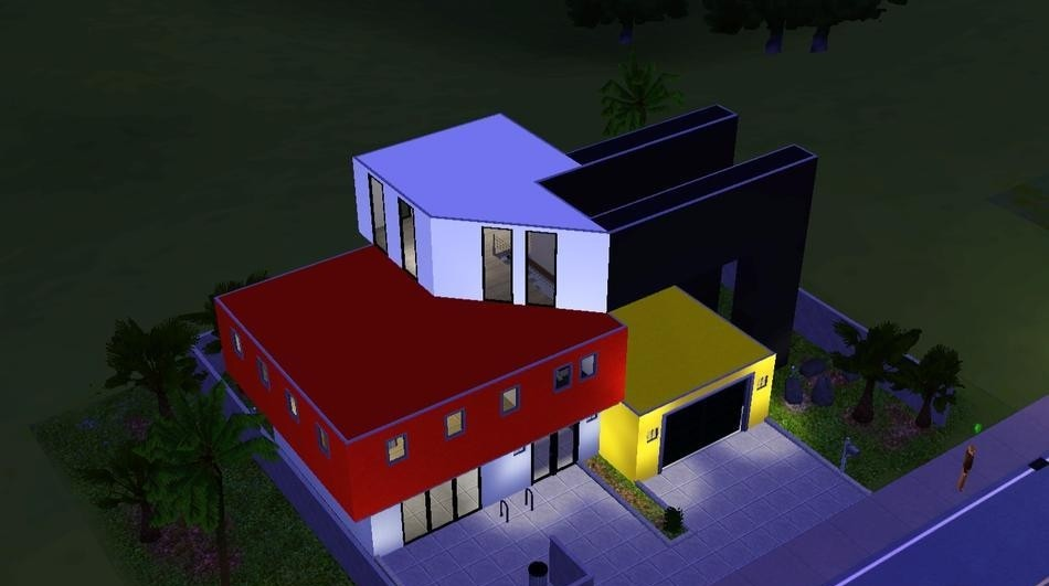 Sims3 Bright Contemporary Home