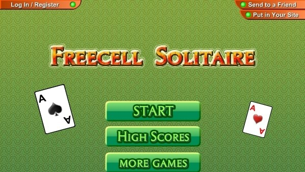 free game freecell aarp
