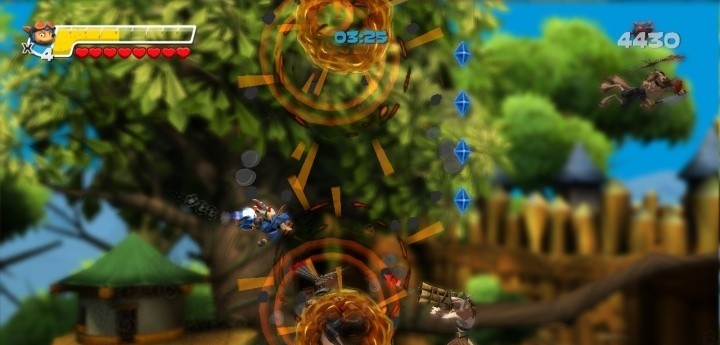 Screenshots - for Rocket Knight Screenshots Pack